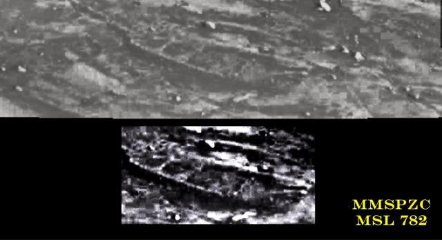 1(2) - Increible, el rover Curiosity encuentra lo que parece ser los restos de un barco en Marte