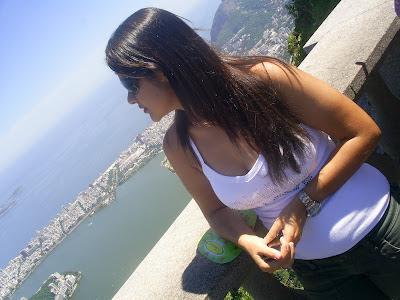 Lidiane Franqui -vista do Cristo - Rio de Janeiro - Brasil