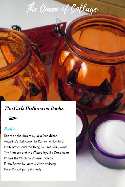The Girls Halloween Books