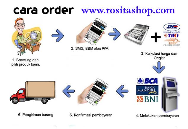 cara pembelian online produk nasa rositashop