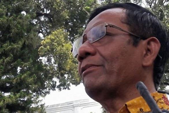Mahfud MD Batal Masuk Tim Hukum Bentukan Wiranto