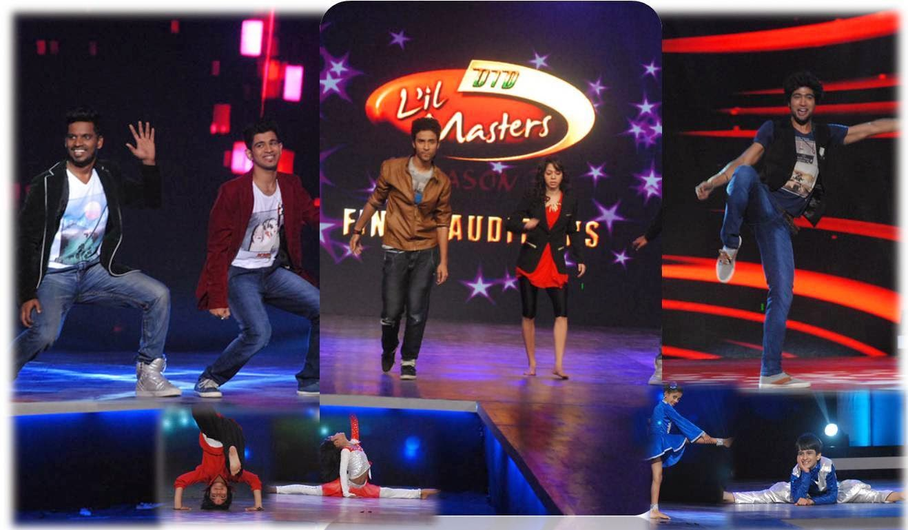 Rahul and Paul, Raghav, Swarali, Sanam dancing in DID Little Masters show
