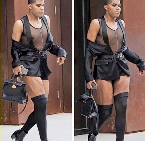 magic johnson s son ej johnson steps out looking like a