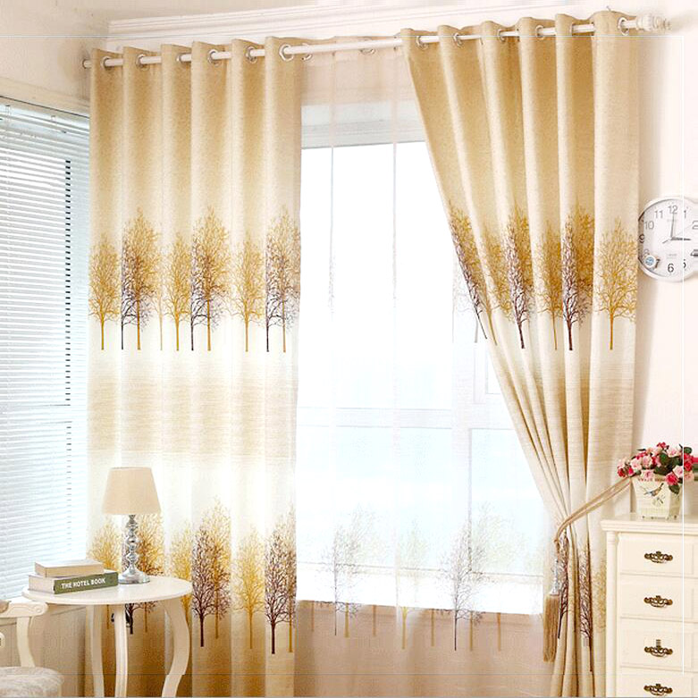 Home Living Inspiration: Floral Curtains  - thedailyposh