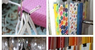 11 Ways to Organize with Binder Clips | Organizing Made Fun
