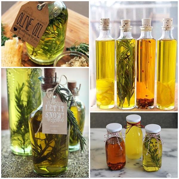 Na końcu mojego zestawienia znalazła się wytrawna propozycja na zrobienie smakowej oliwy z oliwek z dodatkiem np. czosnku, tymianku, papryczki chili, rozmarynu. Taka oliwa doda niepowtarzalnego smaku, a sprawdzi się np. do sałatek, pizzy, marynat, makaronów czy zapiekanek. Ważne jest, aby użyć świeżych składników i oliwy z oliwek dobrej jakości, z pierwszego tłoczenia.