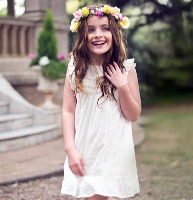 Moda primavera verano 2018 para niños y niñas. Anavana primavera verano 2018 vestidos, remeras, blusas, shorts.