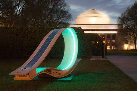 Solar chairs - for students - Massachusetts Institute of Technology
