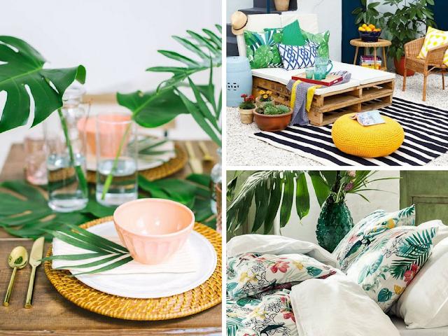 Inspirações para uma decoração tropical