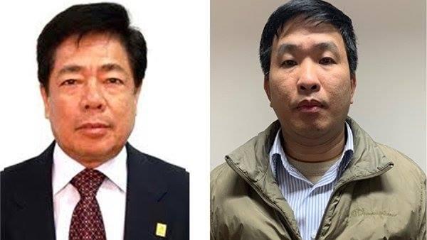 Bị can Trương Văn Tuyến và bị can Phạm Thanh Sơn