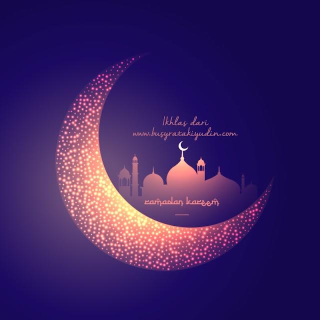Salam Ramadan dan Selamat Berpuasa kepada semua umat Islam