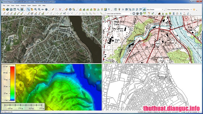 Download Global Mapper 20.0.1 Full Cr@ck