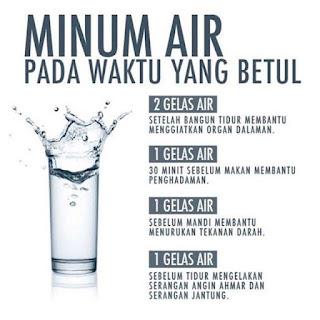 Hasil carian imej untuk cara minum air yang betul