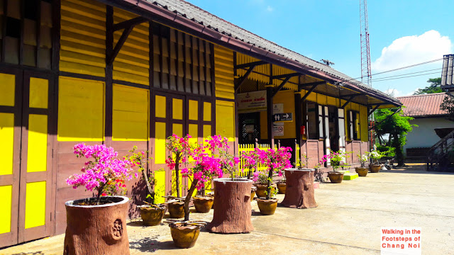 Train stations in Thailand, next station Khlong Pai!