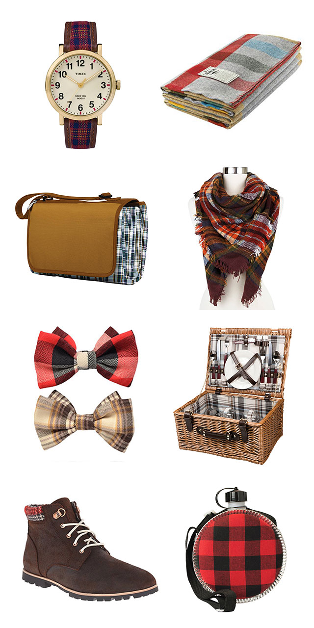 Gift Ideas: Going Plaid
