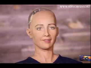 Bizarr mondat hagyta el az új humanoid robot száját