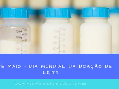 19 de Maio - Dia mundial da doação de leite