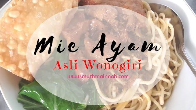 Resep Mie Ayam Wonogiri