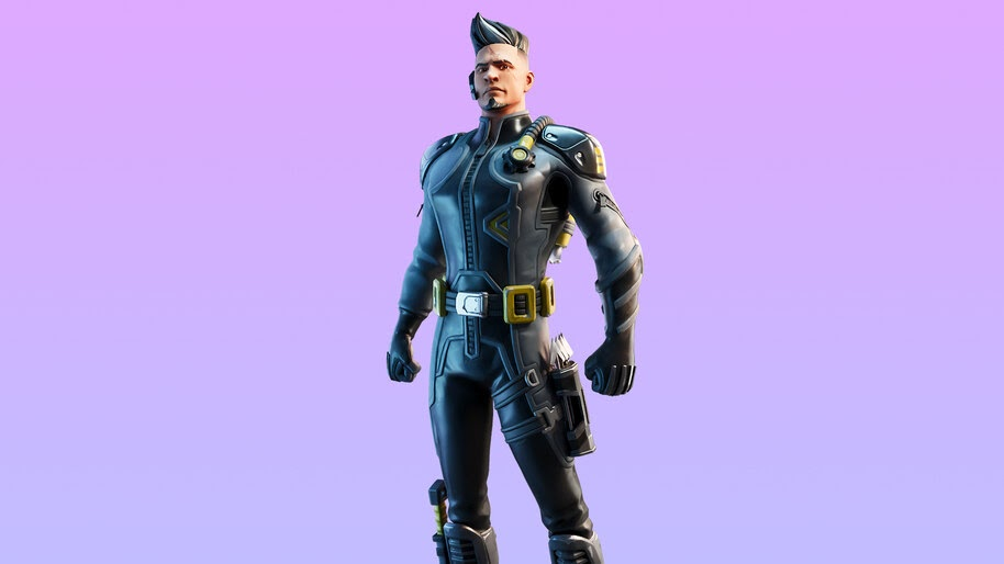 Fortnite, Trench Raider, Outfit, Skin, 4K, #5.1260