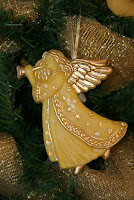 Beeswax angel ornaments