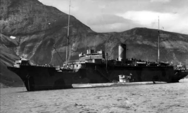 WWII Stella Polaris as barracks for U Boat crews