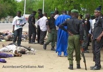 Asesinan cristianos en Nigeria
