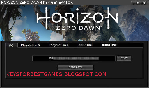 HORIZON ZERO DAWN KEY GENERATOR SERIAL KEY FOR FULL GAME