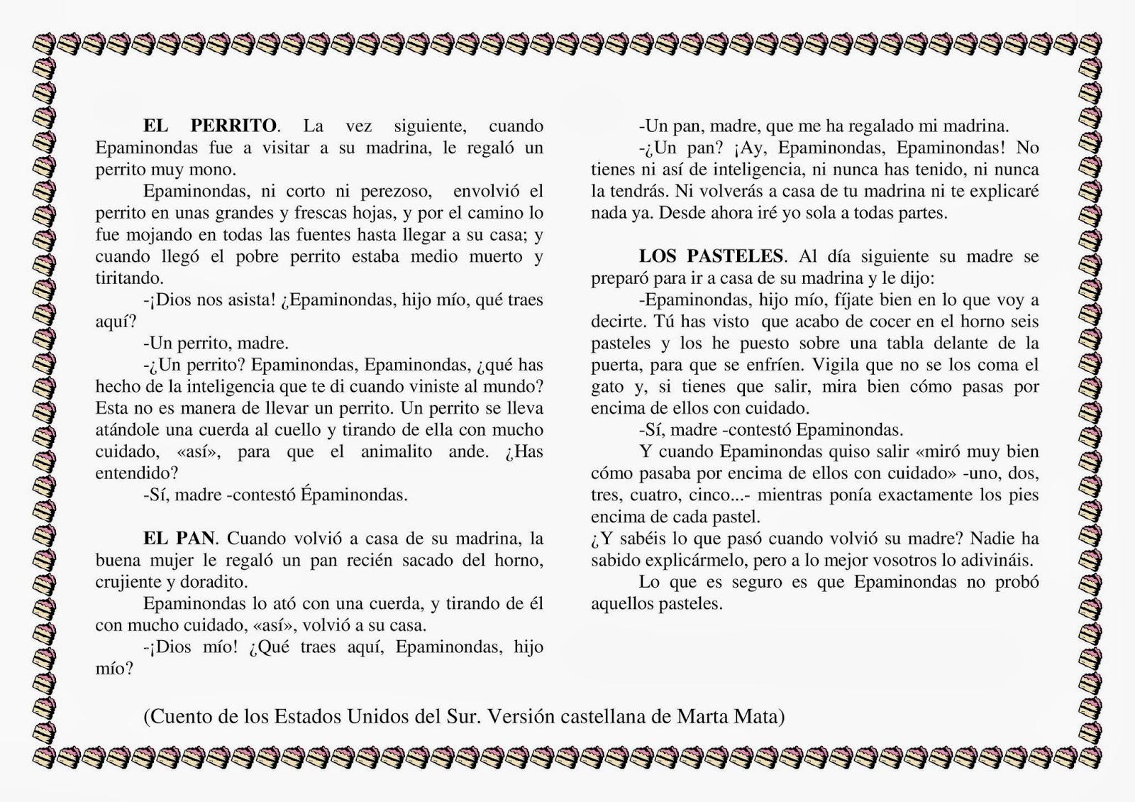 Worksheet. Biblioteca Escolar febrero 2014