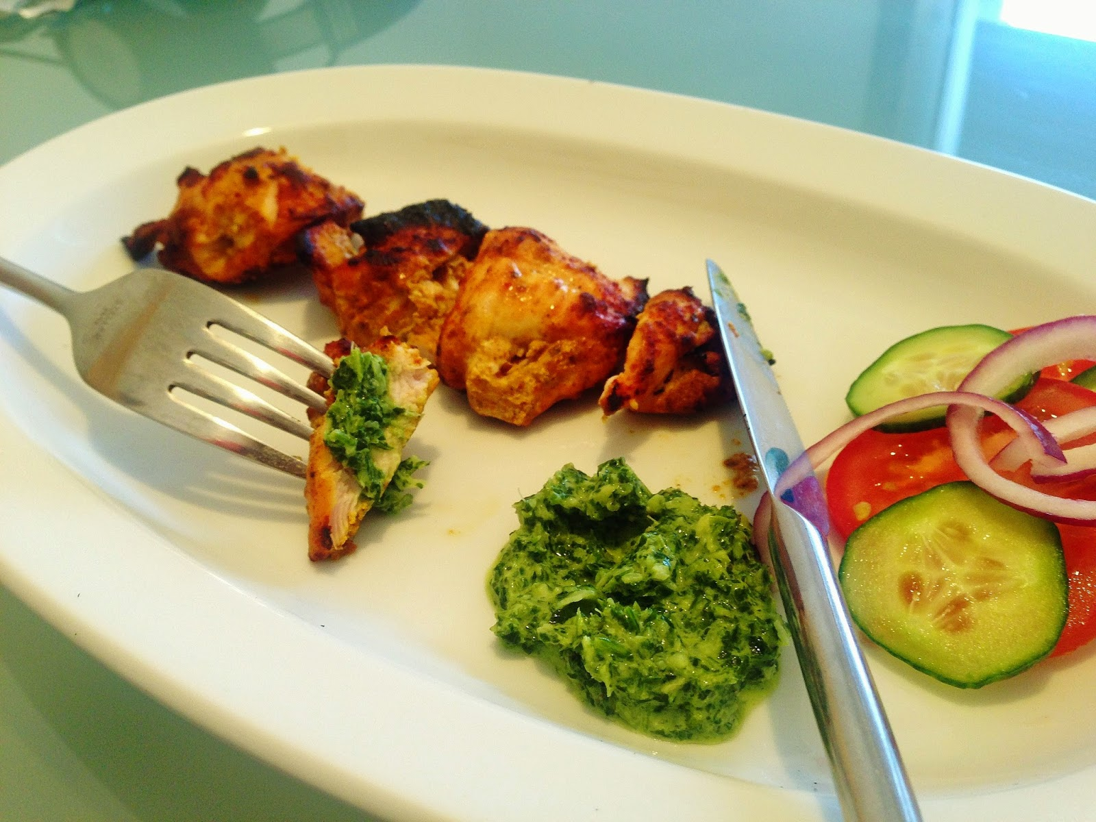 the Best Chicken Tikka