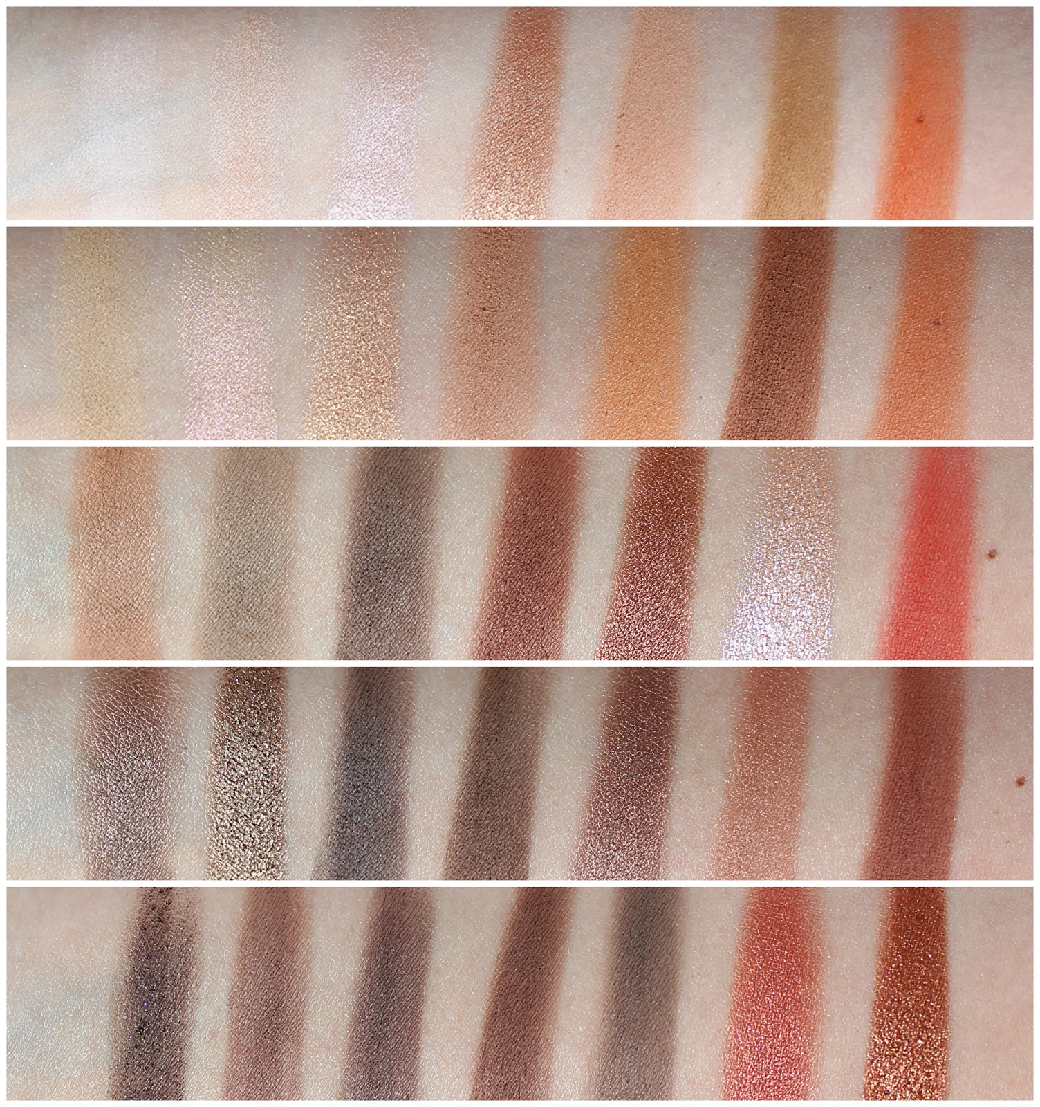 Morphe 35O Palette Review and Swatches