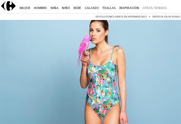 la moda TEX de Carrefour tienda online nueva