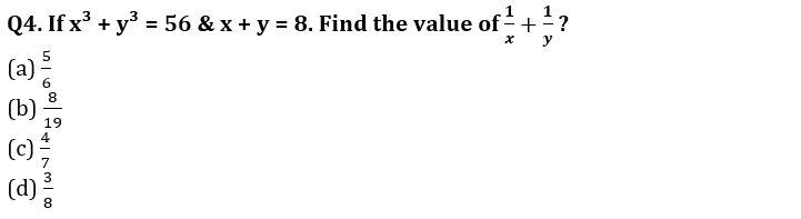 Algebra Questions for SSC CGL TIER-2 , SSC Stenographer & IB (ACIO) 2017_120.1