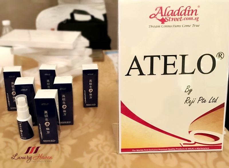 japanese skincare brand atelo by reji
