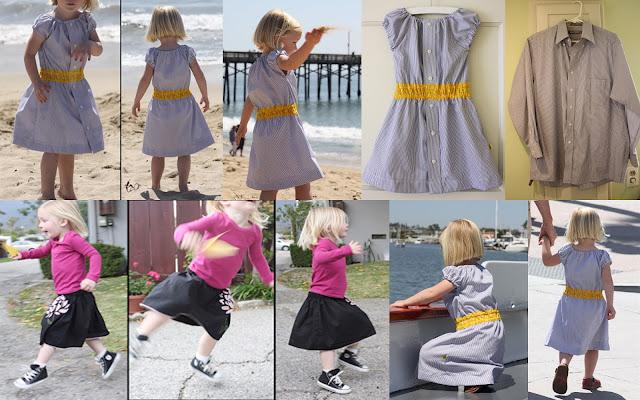 خياطة ملابس الاطفال من الملابس القديمه بدون قص او خياطة صعبة