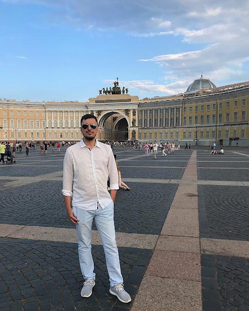 Санкт-Петербург - Дворцовая площадь (St. Petersburg - Palace Square)