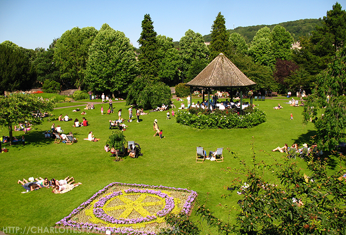 Park Bath, Music in Bath, Garden of Bath