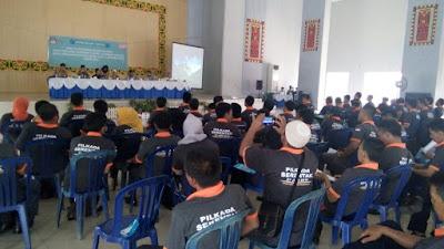KPU Lampung Utara Gelar Bimbingan Teknis bagi 115 Anggota Panitia Pemilihan Kecamatan (PPK)