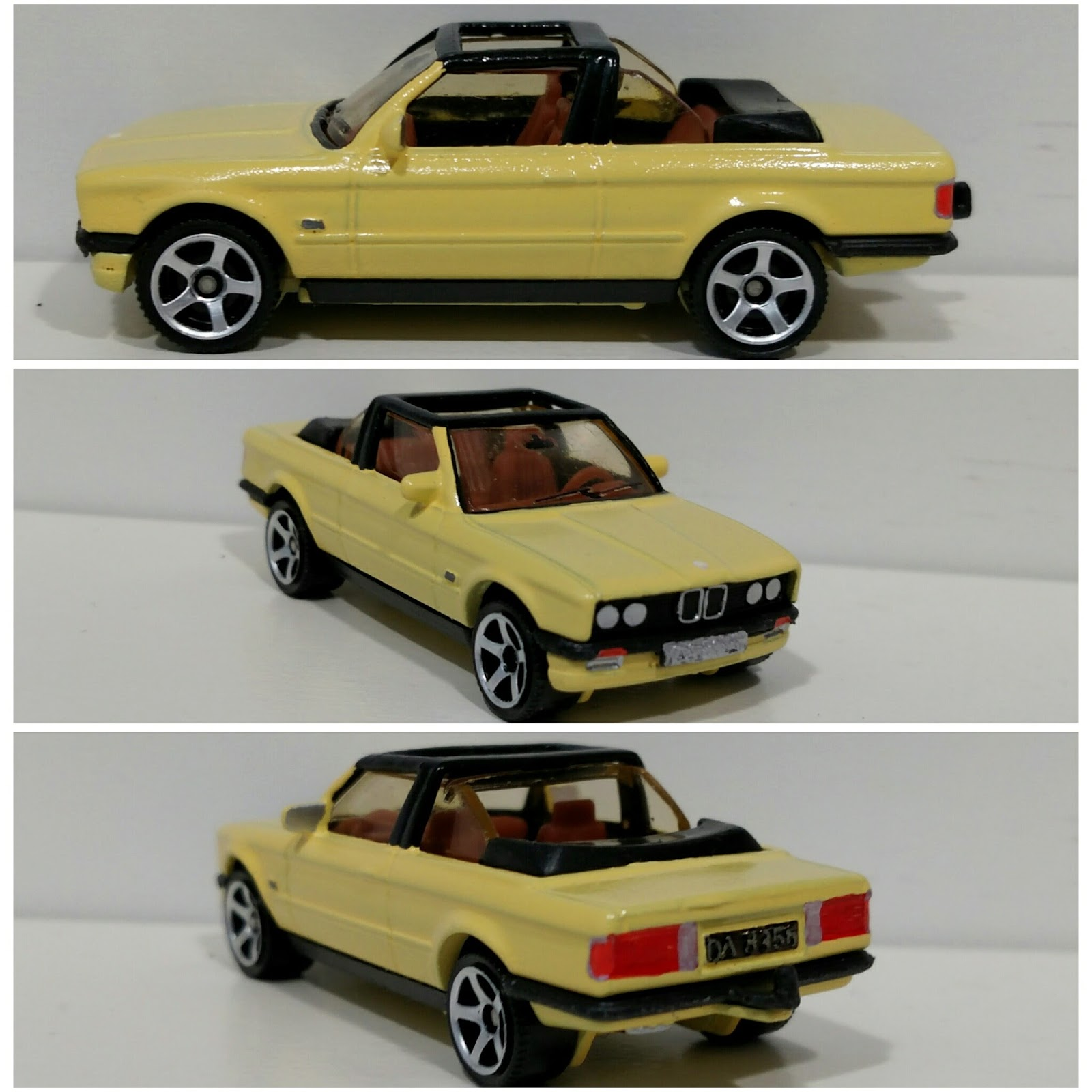 3inchdiecastbliss Custom Matchbox Bmw 323i Cabrio