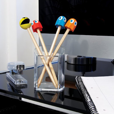 Arcade Themed Pencil Top Erasers
