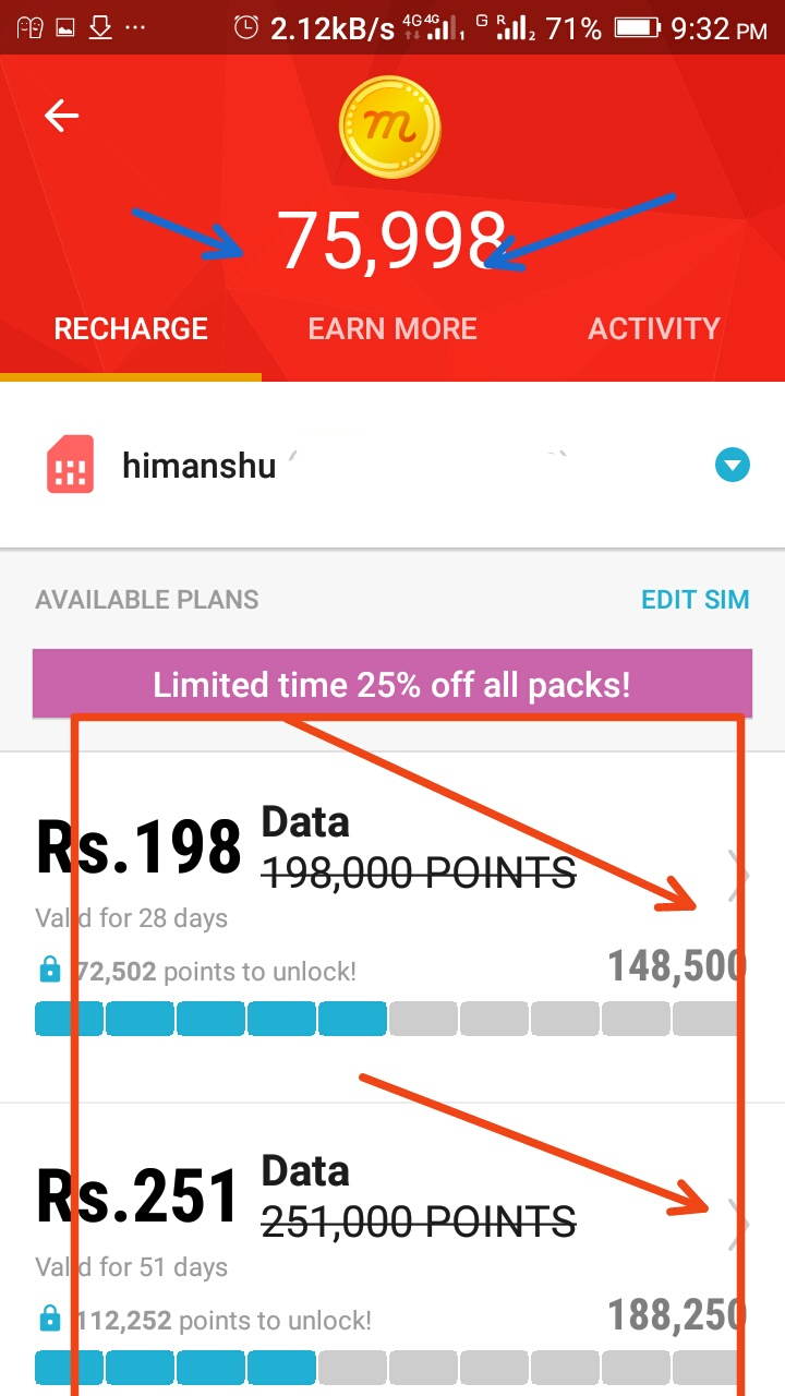 Mcent browser the recharge app hacked point tricks unlimited - Mcent
