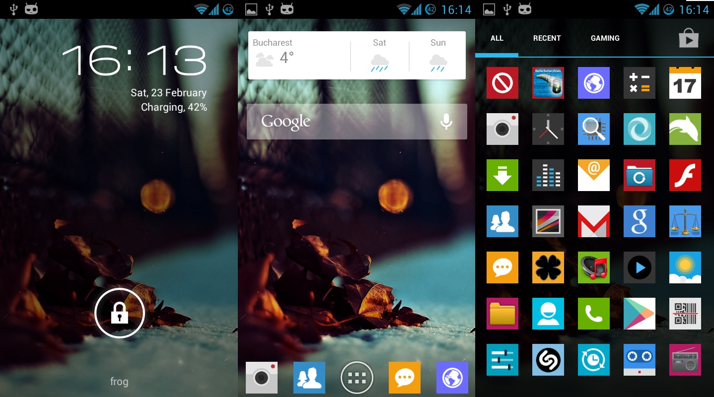Android Home Screen Design Ideas