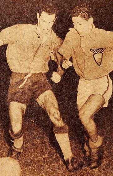 Ecuador y Chile en Campeonato Sudamericano de 1947