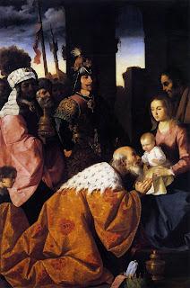 Francisco de Zurbarán - La adoración de los Magos - 1638/39 - Musée des Beaux Arts - Grenoble