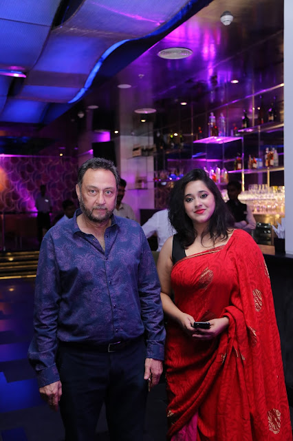 Rounak & Manali at the IQ opening