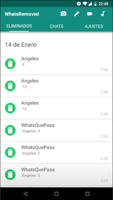 Descargar e instalar WhatsRemoved en tu teléfono