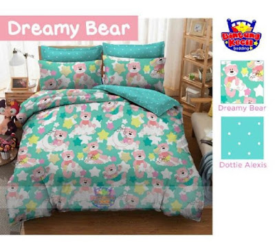 Sprei Anak Karakter Dreamy Bear star