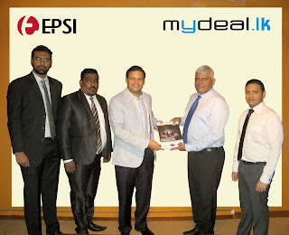 EPSI Technology Systems Product Manager - Chanaka De Mel, EPSI Technology Components Product Manager - Dinesh Kumar, EPSI Technology Chief Executive Officer - Niranjan Canagasooryam, Mydeal.lk Chief Executive Officer - Kumar Melvani & MyDeal.lk Chief Communications Officer - Thushan Jayaratne