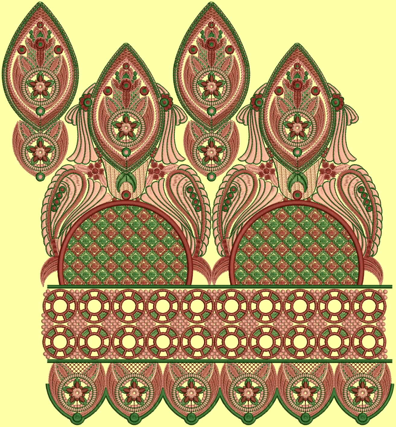 Choice Of Indo Western Embroidery Design Collection By Fahad