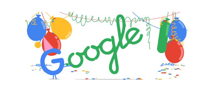 compleanno google 20 anni