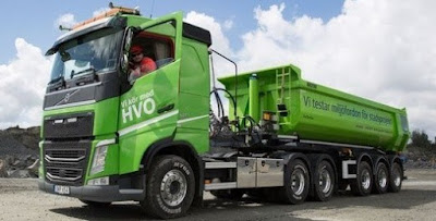 Sobre o uso HVO como combustível